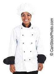 afrikanisch, küchenchef