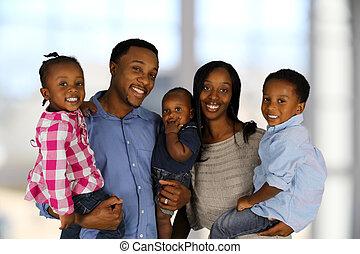 afrikanische amerikanische familie