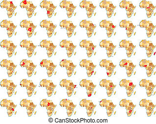 Afrikanische L?nder - Alle afrikanische L?nder