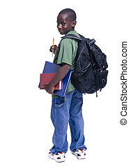 afrikanischer amerikaner, schueler