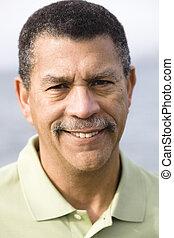 afrikanischer amerikanischer mann