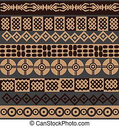 afrikansk, symboler, bakgrund