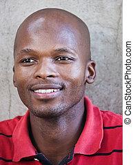 afrikansk unge mand
