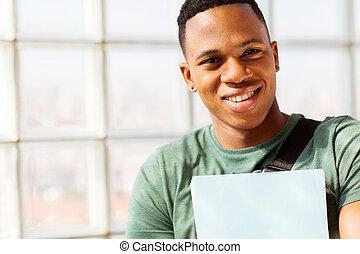 afrikansk, universitet studerande