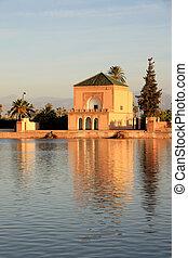 afrikas, -, marokko, -, marrakesh