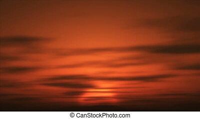 afrique, levers de soleil