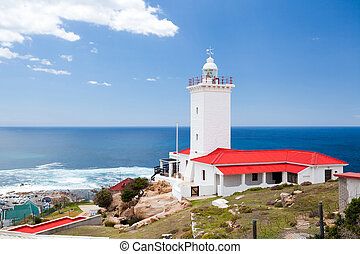 afrique, phare, mossel, baie, sud