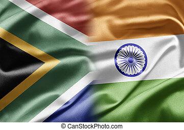 afrique sud, et, inde