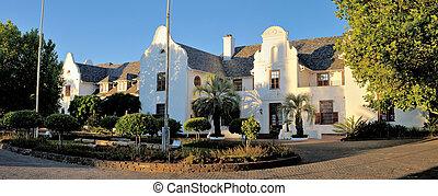 afrique sud, musée, bloemfontein, oliewenhuis, art, panorama