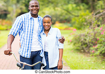 afro american couple dating - romantic afro american couple...