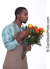 Afro-American flowers retailer