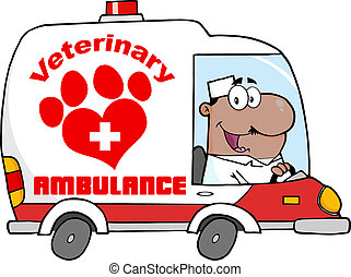 Afro American Veterinary Doctor