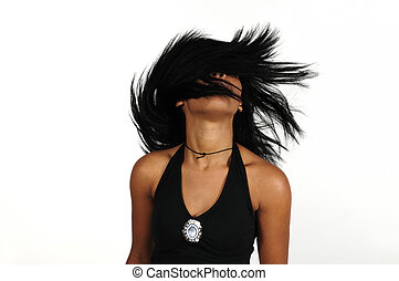 Afro beauty hair