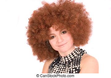 afro, peruka
