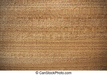 Afrormosia wood surface - horizontal lines - Wood surface, ...