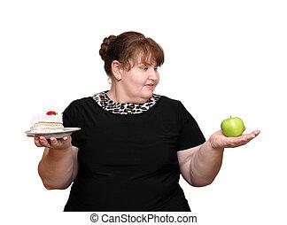 afslanken, vrouwen, overgewicht, keuze