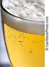 afsluiten, bier, op