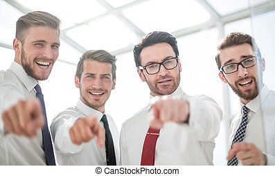 afsluiten, up.confident, handel team, richtend aan, u