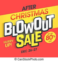 After Christmas Blowout Sale banner - Christmas Blowout Sale...