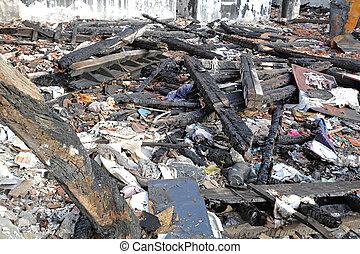 After Fire Debris