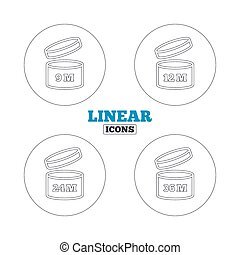 After opening use icons. Expiration date product - After...