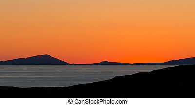 After Sunset on the Isle of Skye