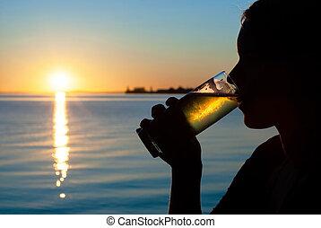 after-work, bier