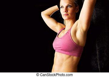 After Workout Portrait