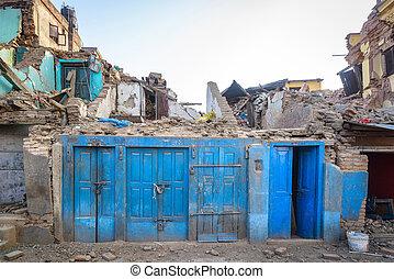 Nepal earthquake 2015 - Aftermath of Nepal earthquake 2015,...