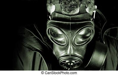 Aftermath - UK military / Anti terrorism gas mask.