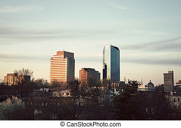 Afternoon in Lexington - Afternoon in downtown of Lexington,...