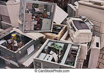 afval, elektronisch