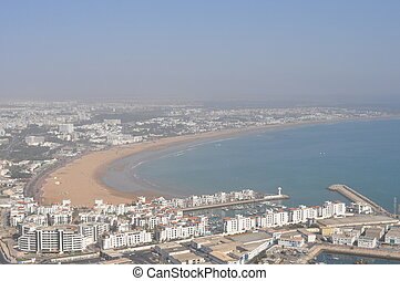 Agadir view from the top
