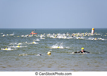 "Triathlon - ""Against the Wind Triathlon"" 02.07.2010 in St. ..."