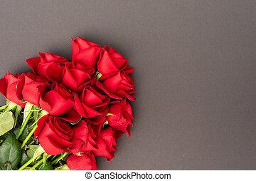 agancsrózsák, black piros, háttér