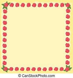 agancsrózsák, flourishes, keret