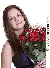 agancsrózsák, nő