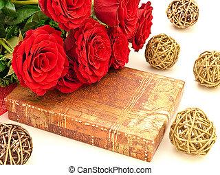 agancsrózsák, piros, tehetség