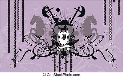 agasalho, heraldic, background4, braços
