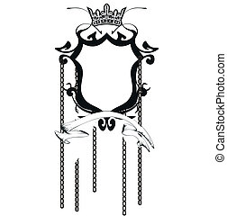 agasalho, heraldic, braços, copyspace8