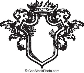 agasalho, heraldic, braços