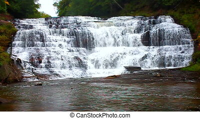 Agate Falls Northwoods Michigan - Spectacular view of Agate...
