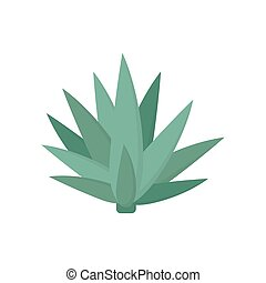 Agave icon flat style simple design. Vector eps10
