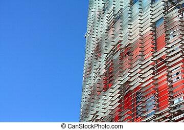 Agbar Tower (Torre Agbar in Spanish) - Skyscrapers in ...