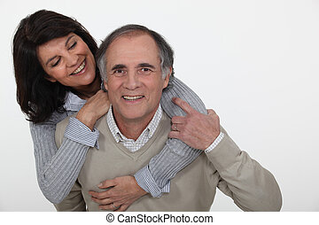age moyen, couple., gentil