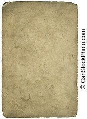 Age old Paper grunge texture (Inc Clipping Path) - The backs...
