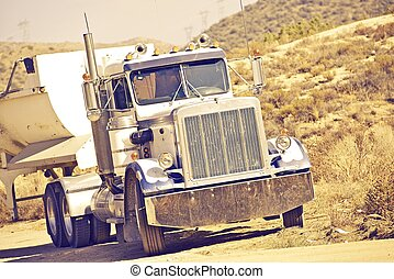 Aged American Truck