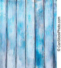 aged blue painted grunge wood texture