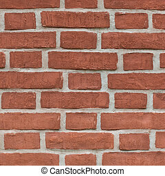 Aged colourful brick wall background
