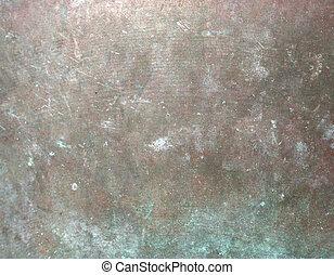 aged copper grunge background